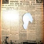 Franco and Hitler alliance